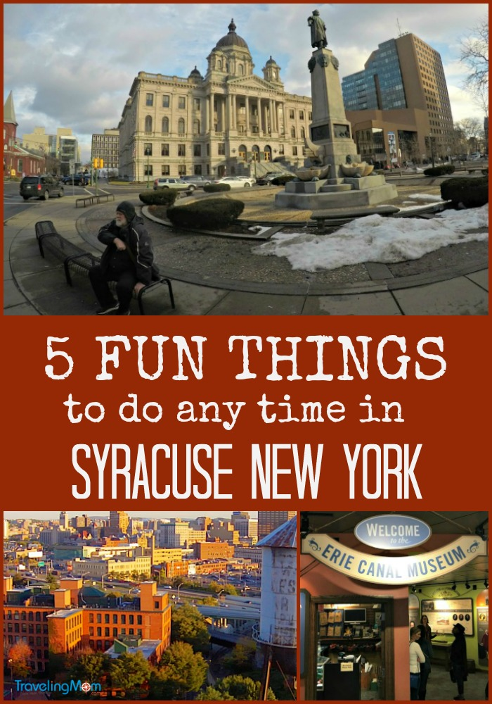 . Learn about these 5 fun things to do in Syracuse New York and then plan your next trip!