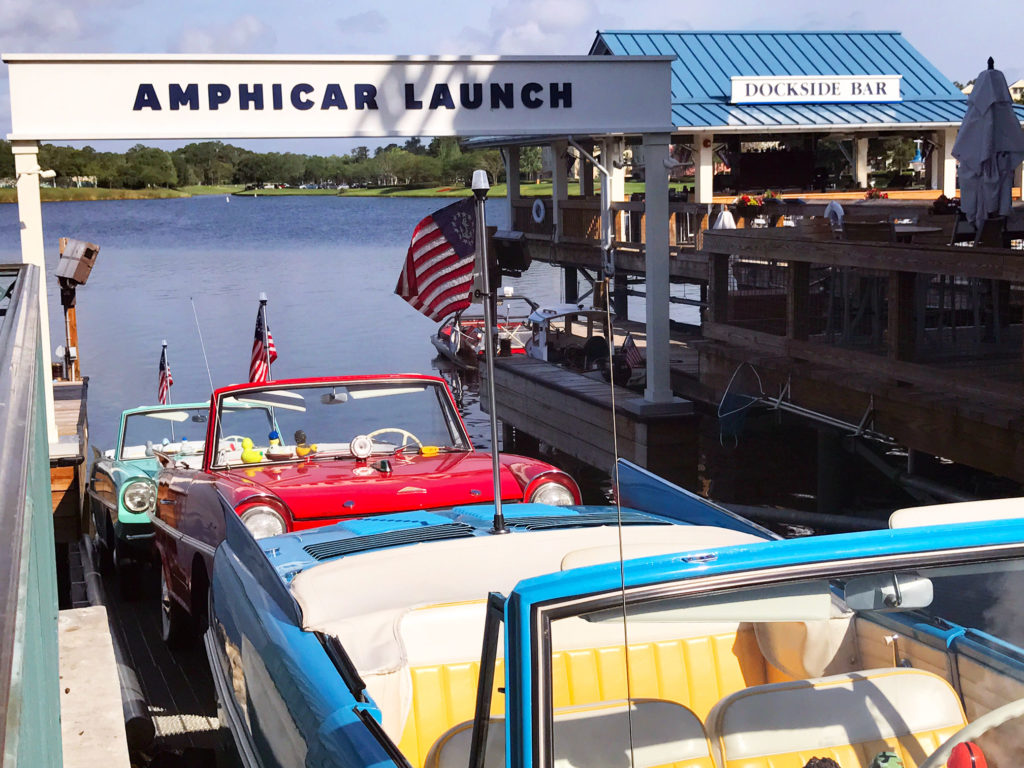 Disney Springs Amphicar is one of the best things to do outside the Disney parks - TravelingMom