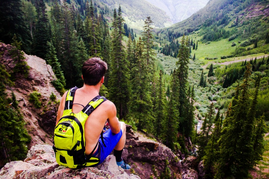 When you Visit Colorado, take a hike -- but you are expected to leave no trace.