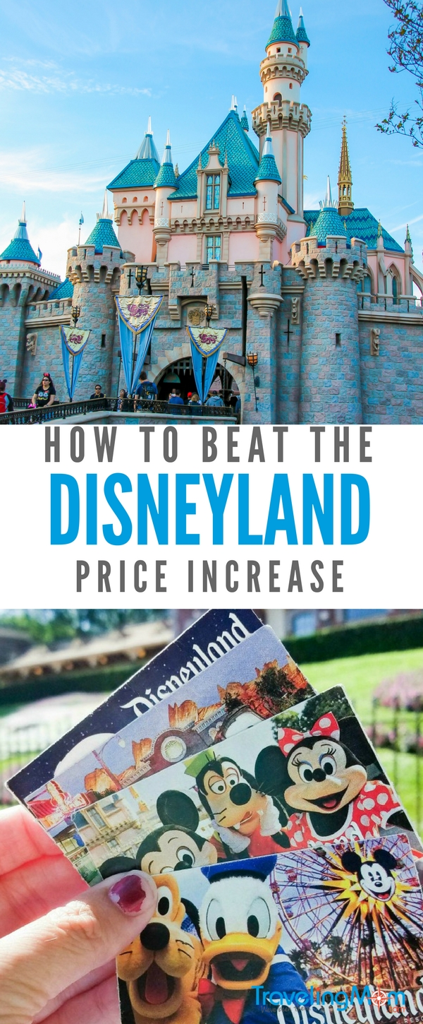 Disneyland ticket prices keep going up. Read all about how you can beat the ticket price increases.