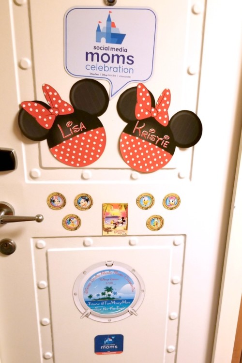 Cabin door magnets are a fun part of Disney Cruise vacations.