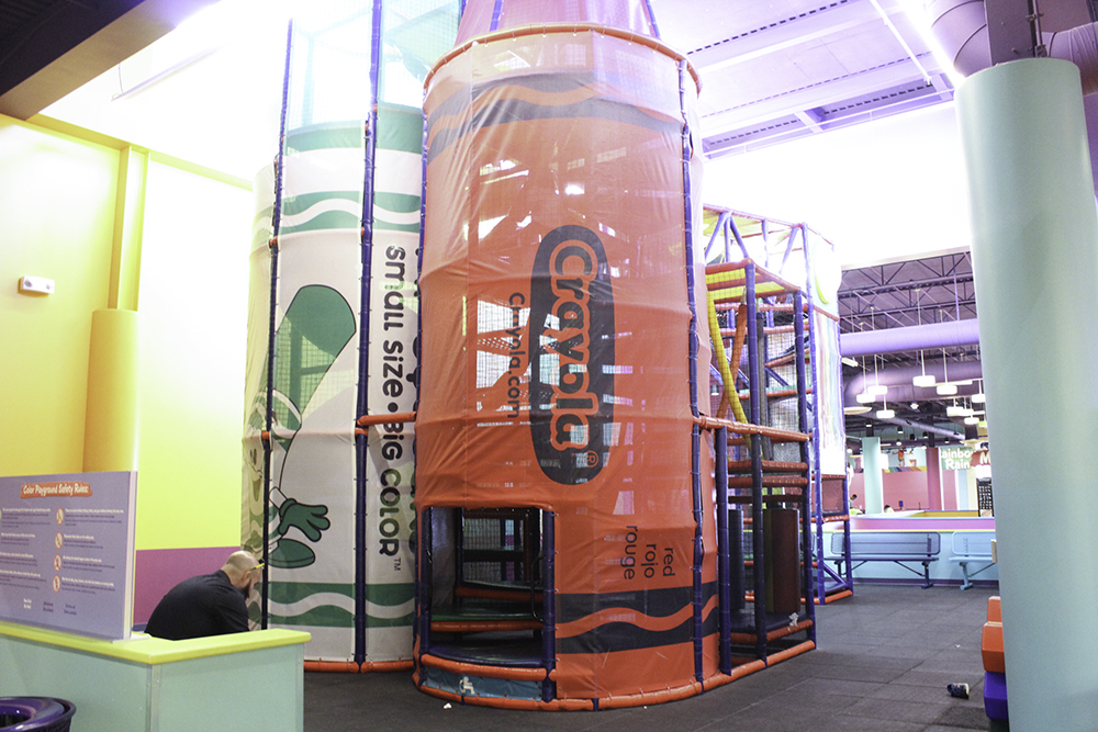The Crayola Experience is one of the best rainy day activities in Orlando for toddlers and preschoolers.