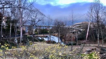 Liberty Bridge, one of many Greenville attractions that are fun and totally FREE!