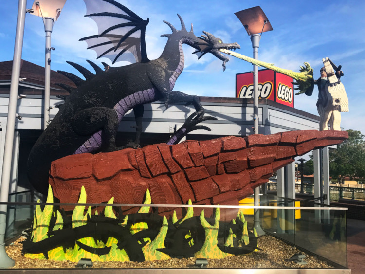 Sit a spell and let kids entertain themselves for FREE with LEGOs at the LEGO Store in Disney Springs.