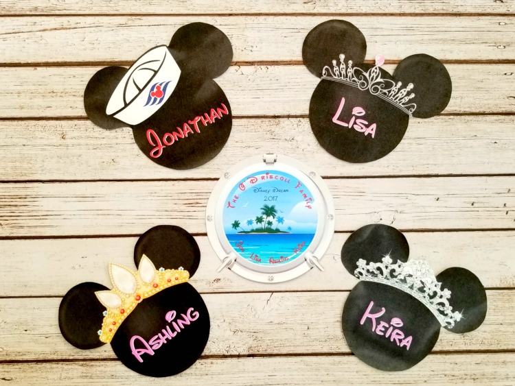 Disney Cruise Door magnets are a must have for your Disney cruise vacation.