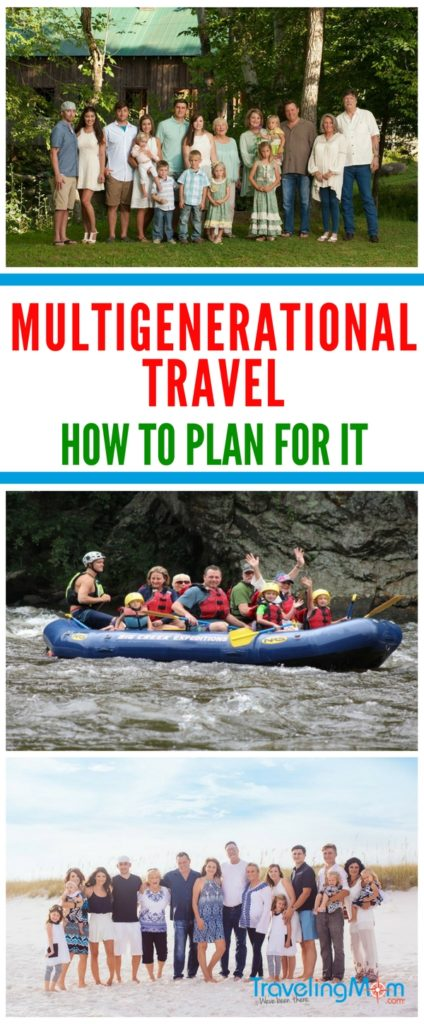 Planning multigenerational travel can be a challenge. Use these 6 tips for your next family vacation.