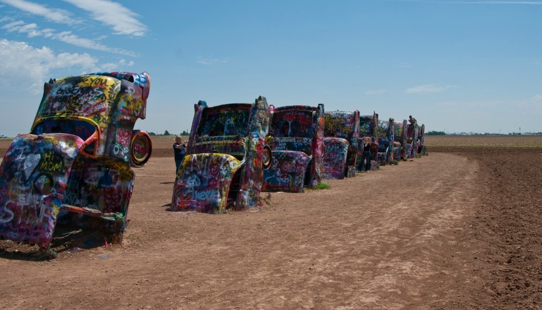 A Don T Miss Texas Roadside Attraction Cadillac Ranch