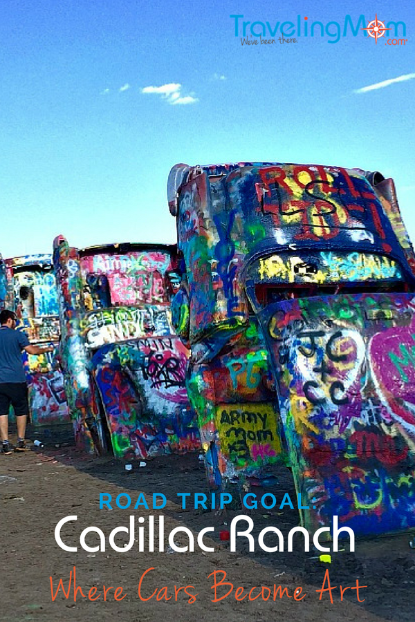 Are you a sucker for weird roadside attractions? Then a road trip to Amarillo Texas and the Cadillac Ranch is a must!