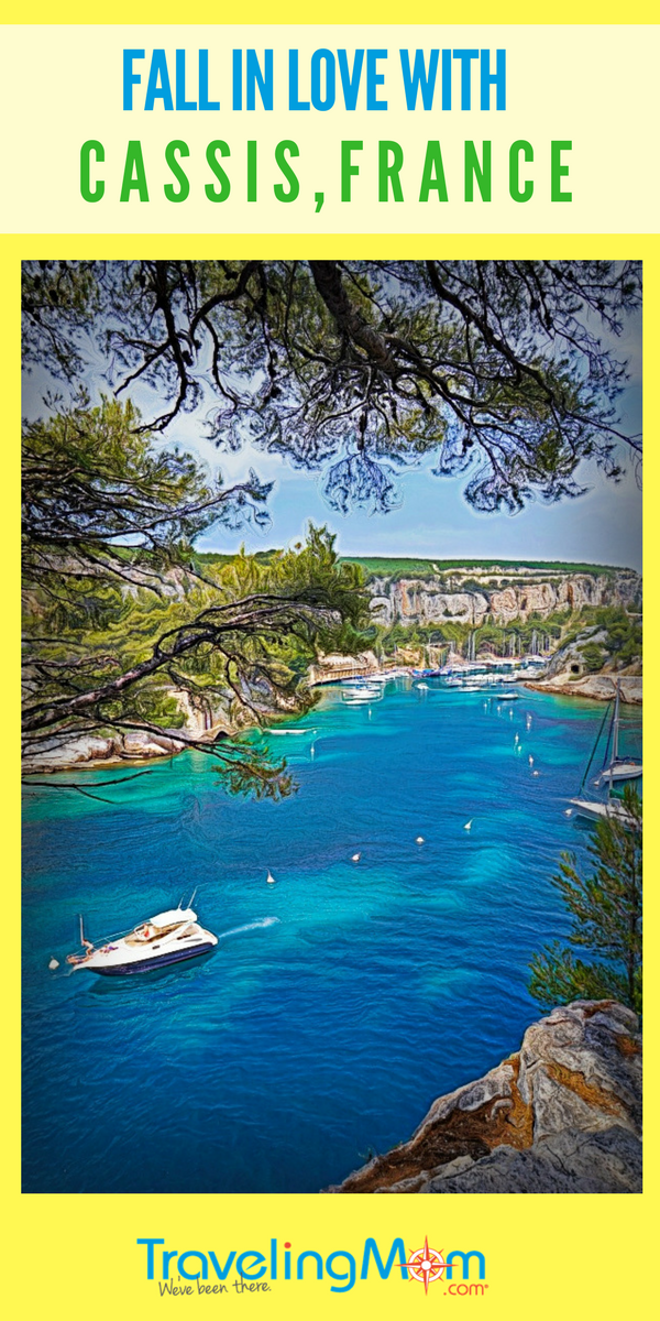 You can never get tired of beautiful views of Cassis, France.