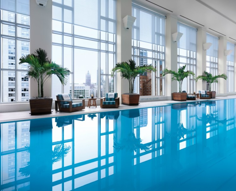 Luxury Hotel Spa Hack: Book two hours of treatments and you'll get access to the Peninsula Hotel's luxury spa and you'll get access to their pool.