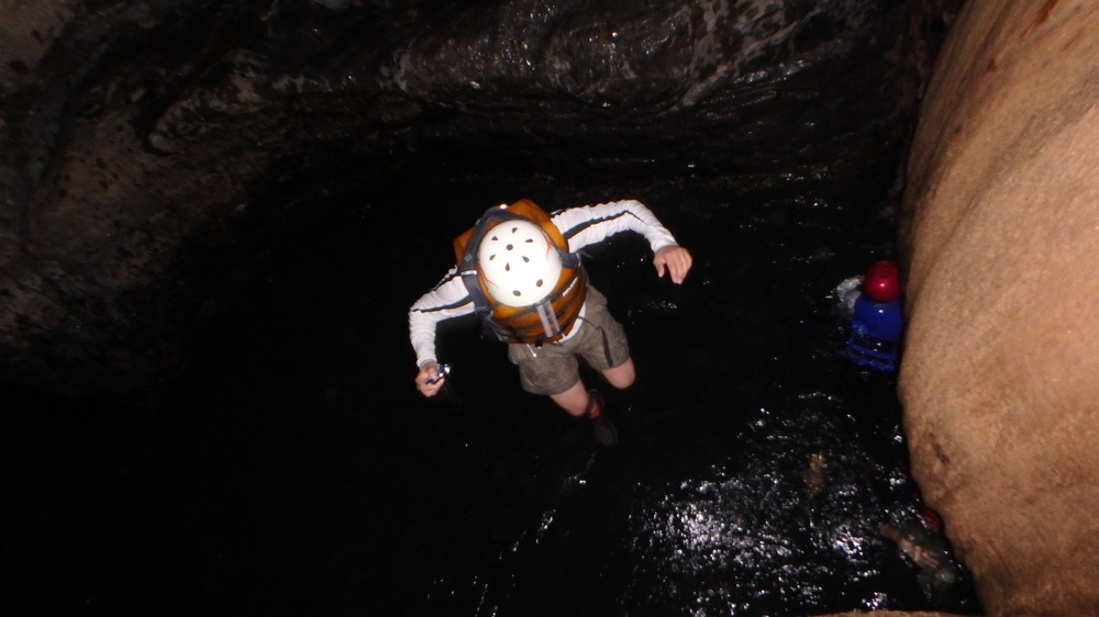 extreme caving in guatemala