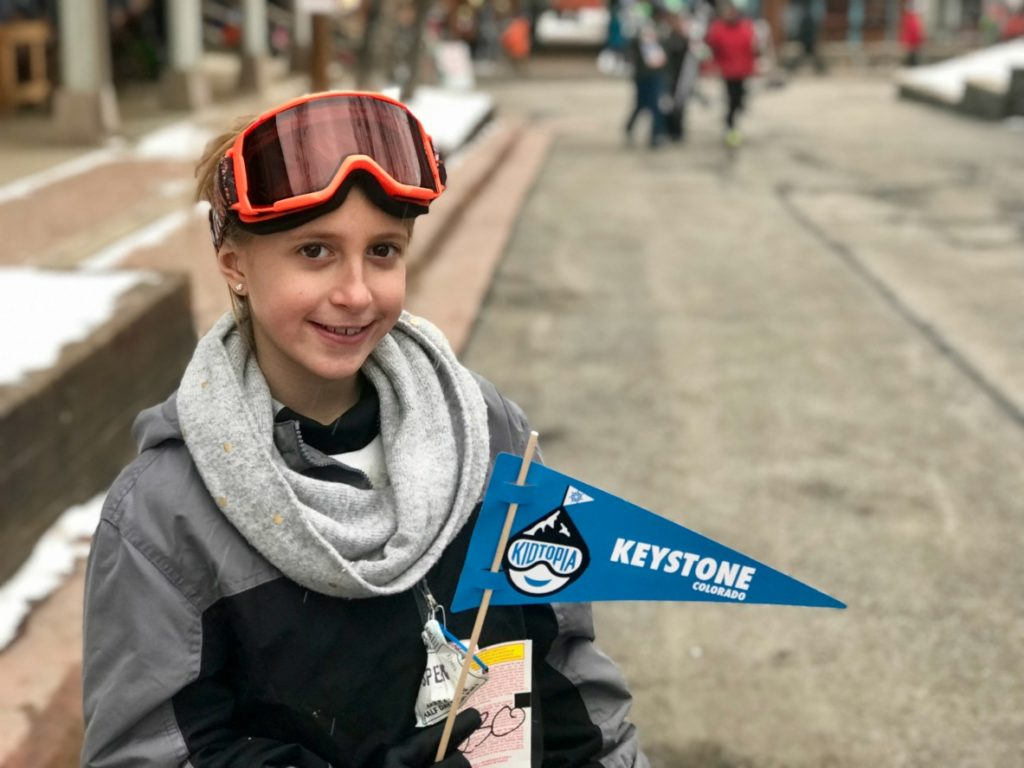 Kids ski free at the Keystone Resort in Colorado. The best ski resort for kids.