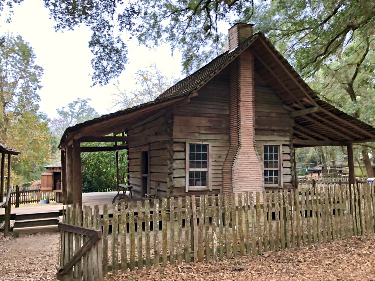 Get involved in living history at the kid-friendly Tallahassee Museum.