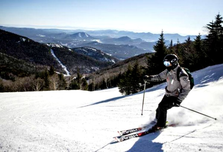 is skiing a big activity on a lake placid ny vacation