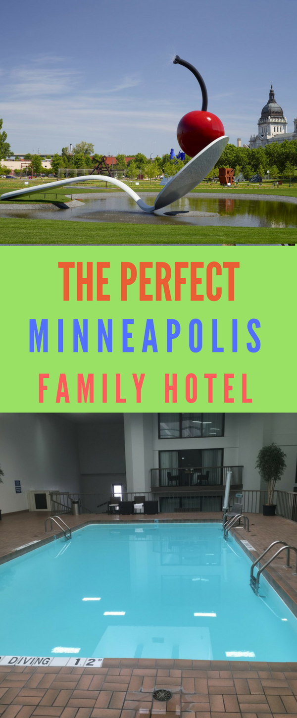 Does a pool top your list for a Minnesota family hotel?