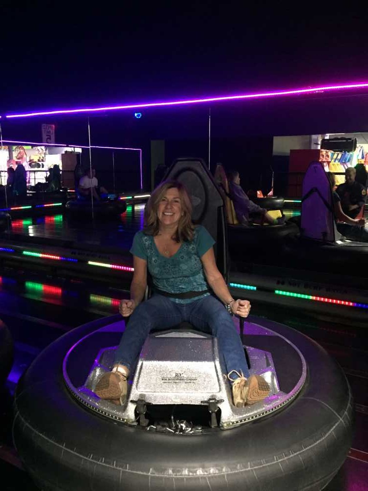 Bumnper cars, an arcade and trampoline park are mong things to do in Eau Claire with kids