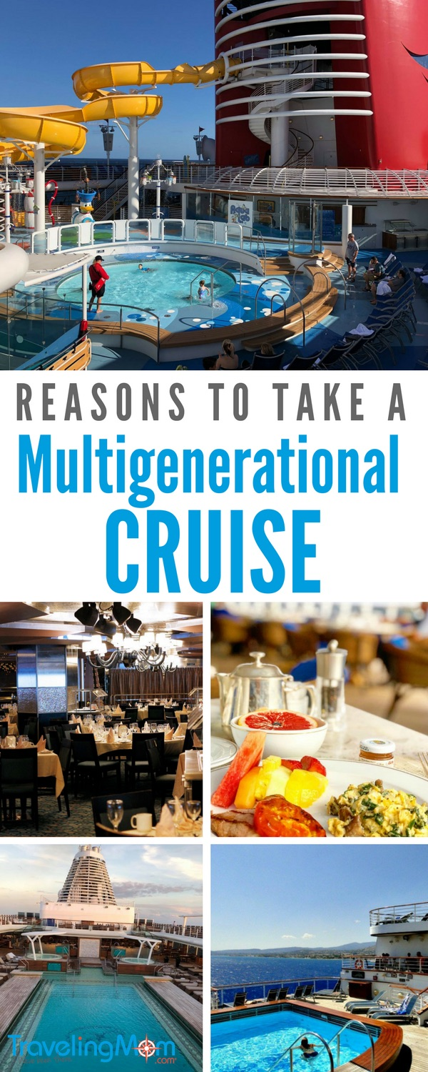 Thinking of planning a multigenerational cruise? Here are several reasons to take a multigenerational cruise this year, such as affordability for families. Photos by Sarah Gilliland, Melody Pittman, and Dana Zucker.