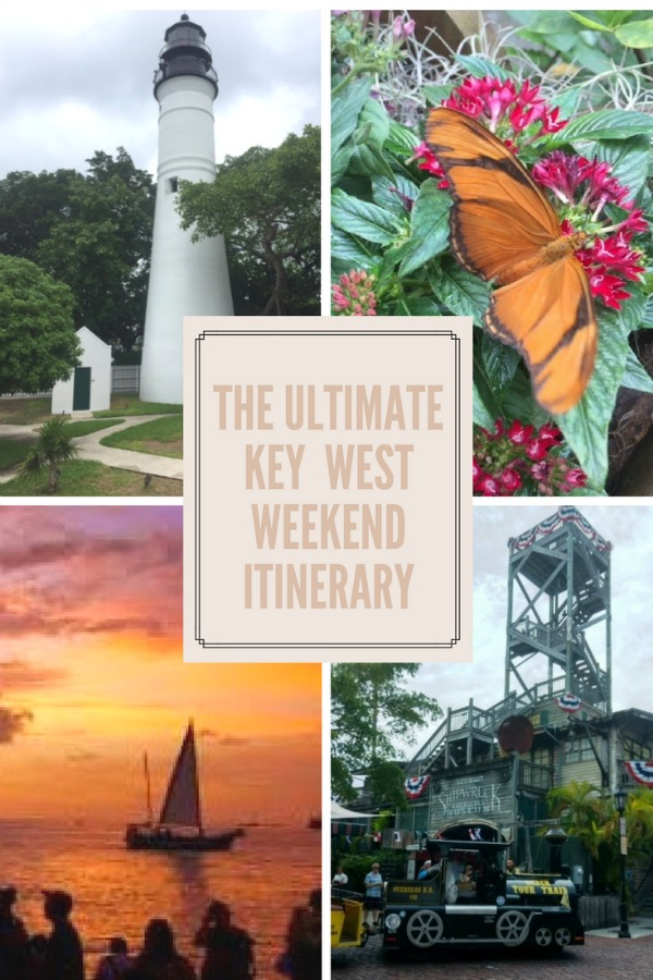 Headed to Key West with the family? This weekend in Key West itinerary gives you sunsets, snorkeling, history and, of course, Ernest Hemingway's famous 6-toed cats!