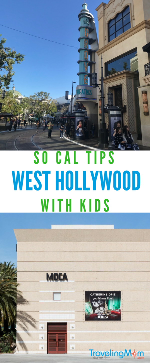 Taking the family to West Hollywood? Don't miss these kid friendly places!