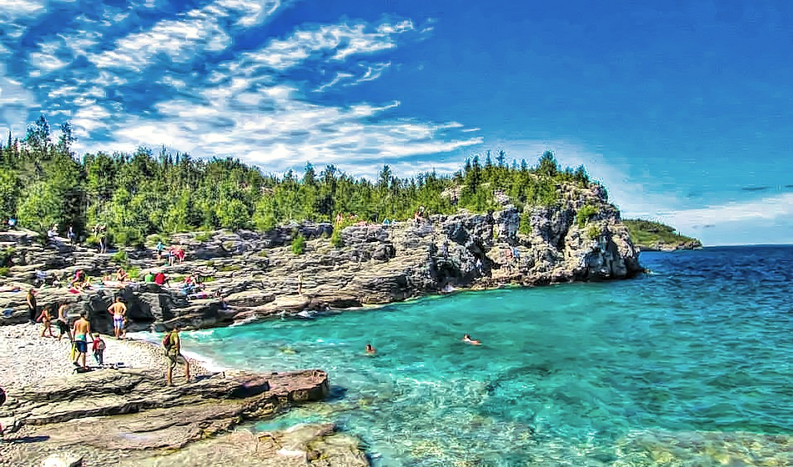 Canada's Bruce Peninsula National Park serves as a playground for the whole family.