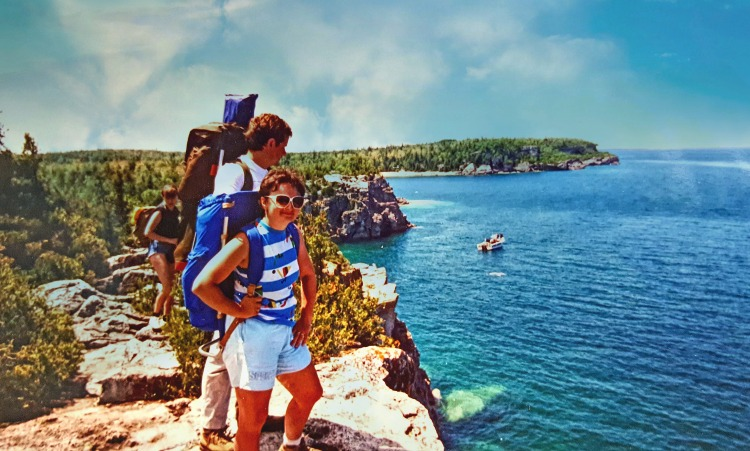 Spectacular views await on hiking trail at Canada's Bruce Peninsula National Park