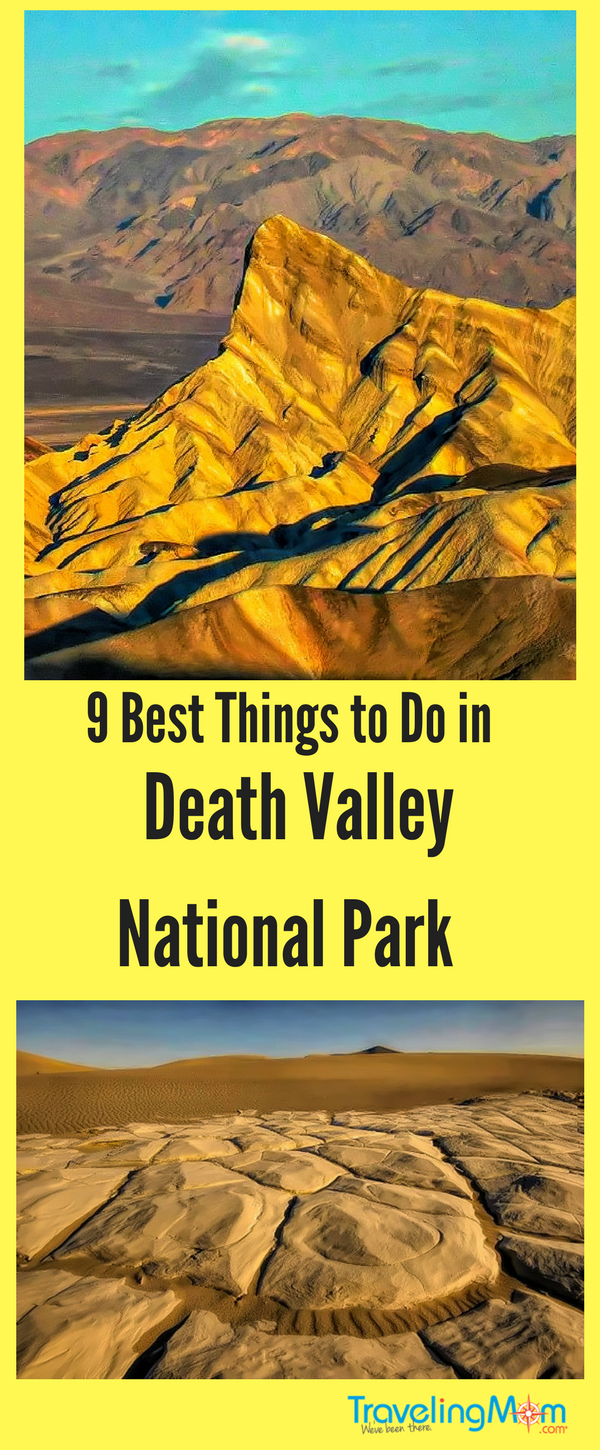 Diverse spectacular scenery awaits at Death Valley National Park.