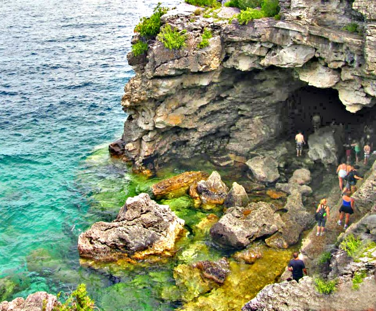 Diverse scenery of Bruce Peninsula National Park in Canada will make you want to explore more.