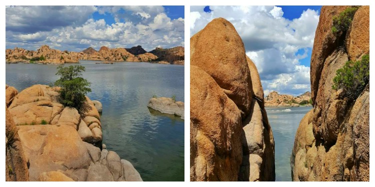 Fascinating scenery awaits at Watson Lake Park near Prescott, Arizona.