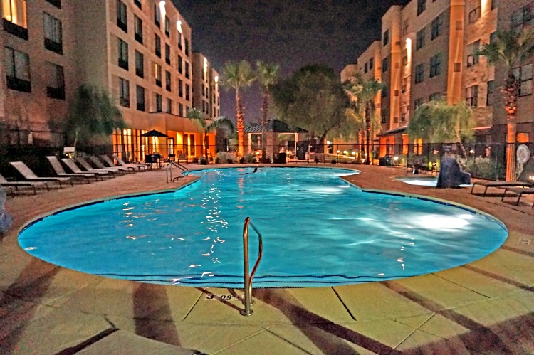 Nice pool at Residence Inn Phoenix North Happy Valley will let you take a break from the heat of the city.