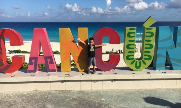 Conquering Cancun with Kids