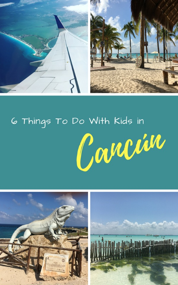 Headed to Cuncun with kids but not sure what to see and do? Here's our top choices for visiting cancun, Mecixo with children!