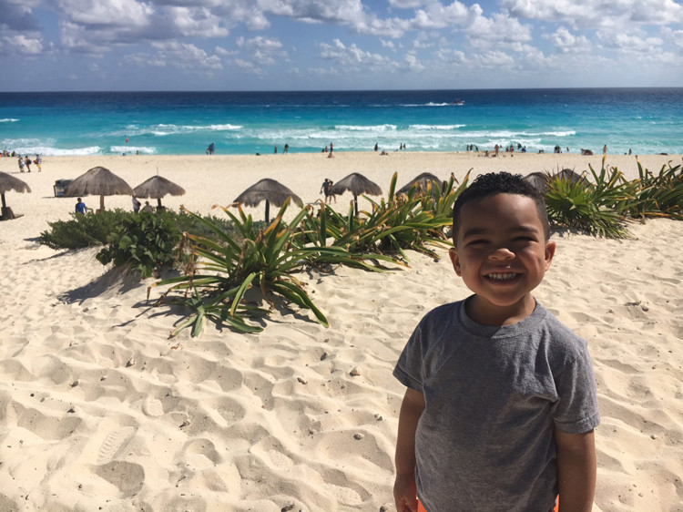 Have you taken the kids to Playa Delfines in Cancún, Mexico? It makes our short list for best things to do!