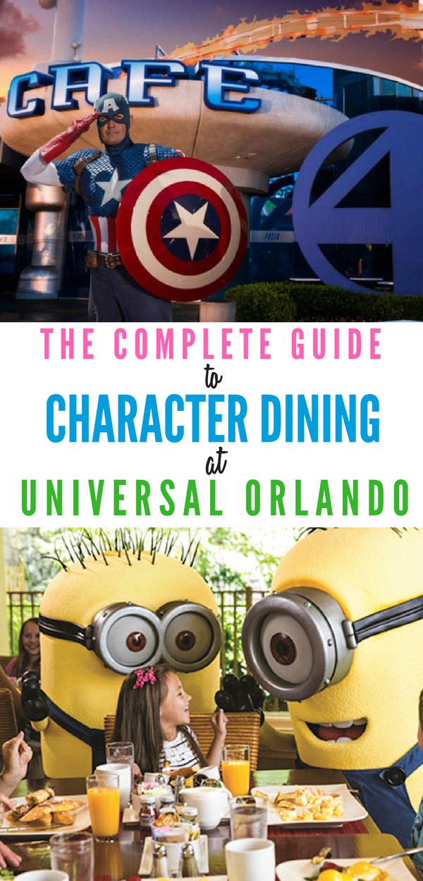 Curious about Universal Orlando character dining? We have The Complete Guide to Character Dining in Universal Studios Orlando.