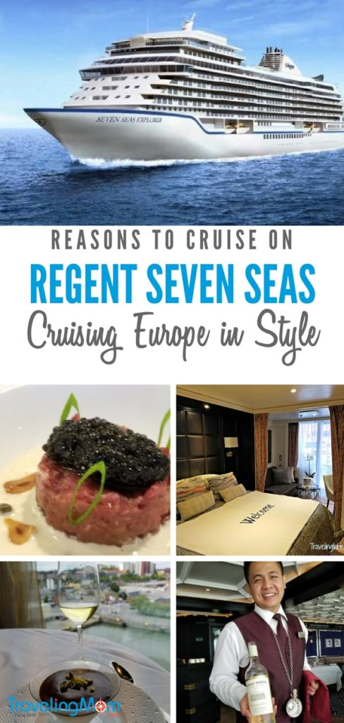 Curising Europe in style on board Regent Seven Seas