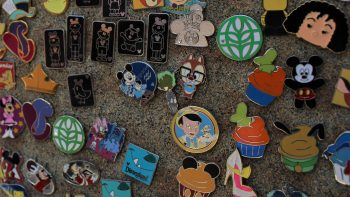 Disney pin for trading -TravelingMom