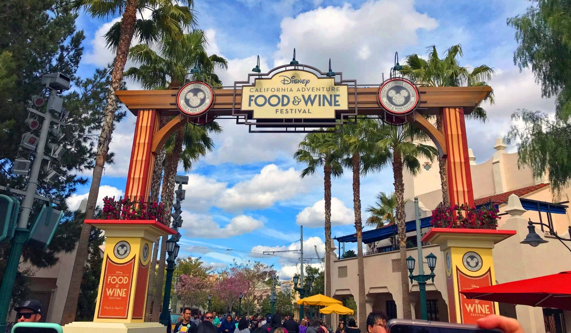 7 Reasons to Attend Disneyland Food and Wine Festival at Disney California Adventure Park and the disneyland food and wine 2018 dates