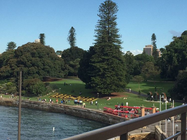 Spend a day of your family vacation in Australia at the Botanical Garden.