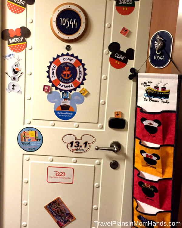 Disney Cruise advice for first time cruisers | Magnets and fish extenders are 2 fun ways to let the pixie dust fly on a Disney cruise.