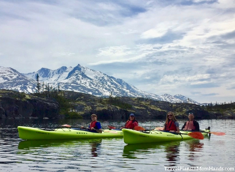 Alaska Excursions | Kayaking is one of the best Alaska shore excursions available on an Alaska cruise.