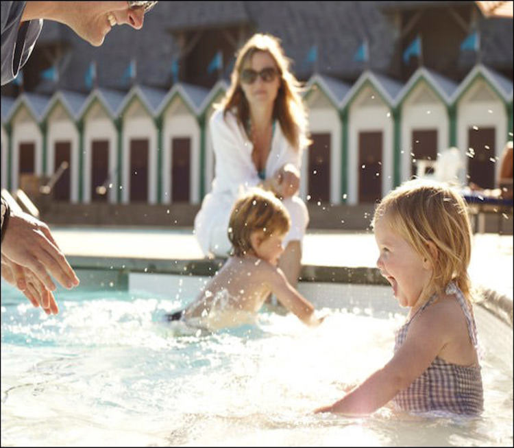 A resort-style pool at a winery? You betcha! There's a reason why Coppola Winery is one of the top family-friendly wineries in the US.