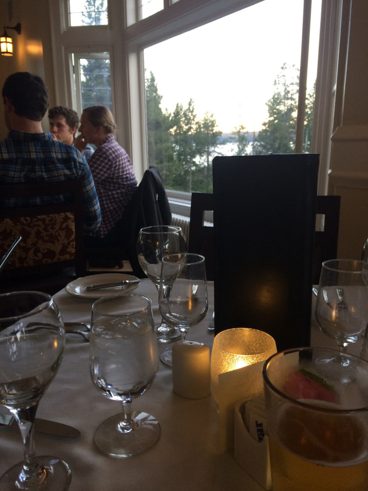 The Dining Room Of The Lake Yellowstone Hotel. Where To Find Luxury In  Yellowstone National
