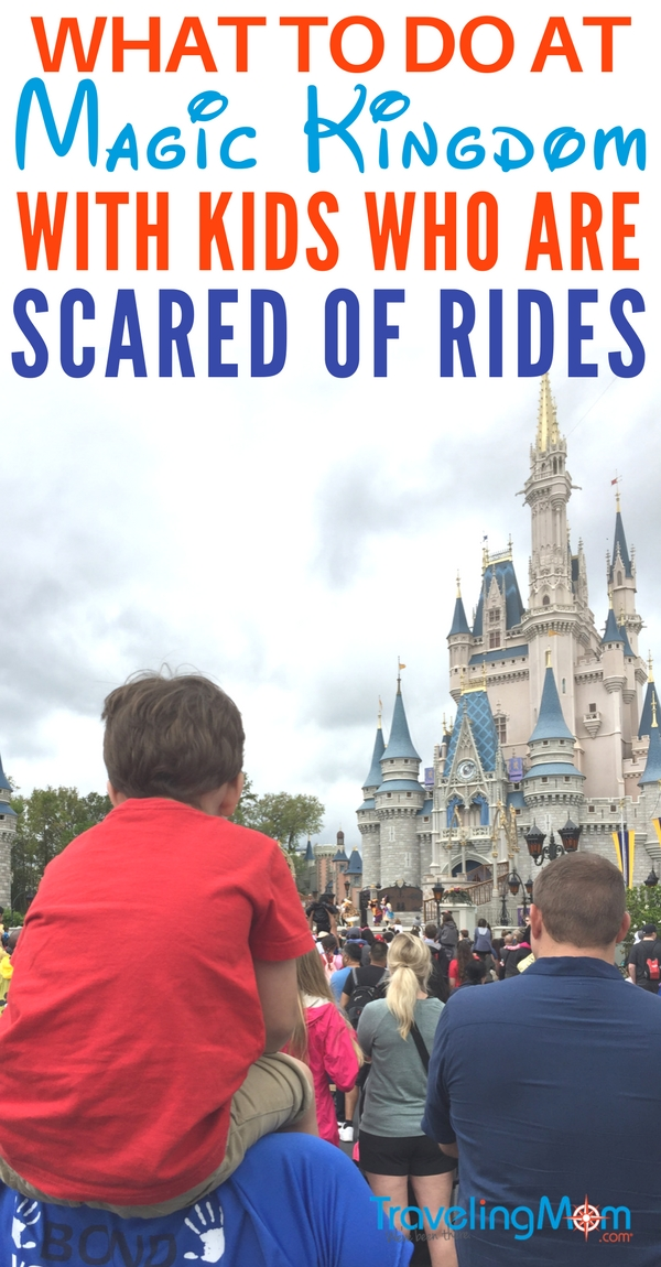 What to do when your child's scared of Magic Kingdom rides.