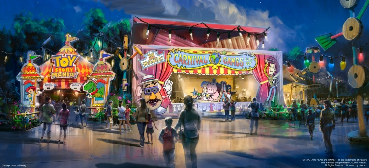 Toy Story Mania will have a new entrance just in time for the Toy Story Land opening.
