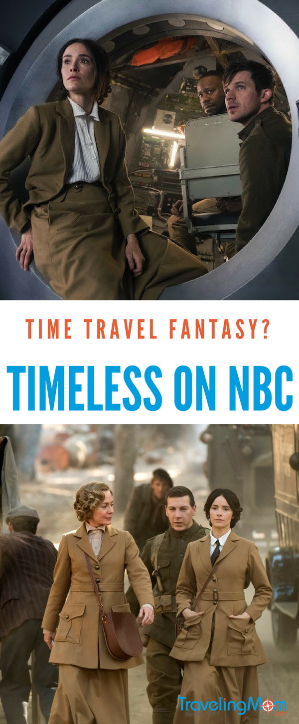 Could time travel be the next frontier? Check out Timeless on NBC!