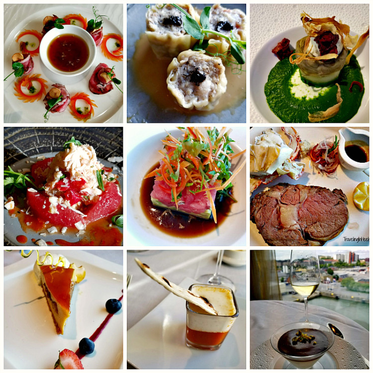 One of the best things about cruising Europe in style onboard Regent Seven Seas is that the food is so amazing!