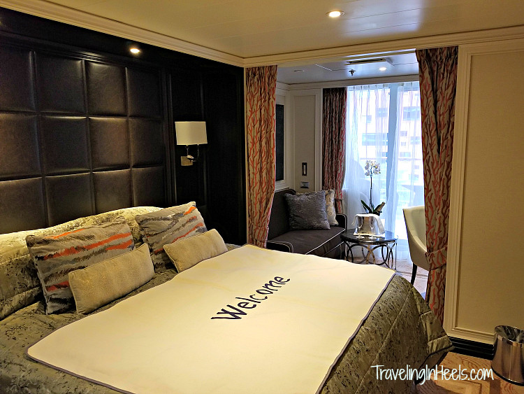 Luxury cruising includes spacious cabins onboard Regent Seven Seas Explorer.