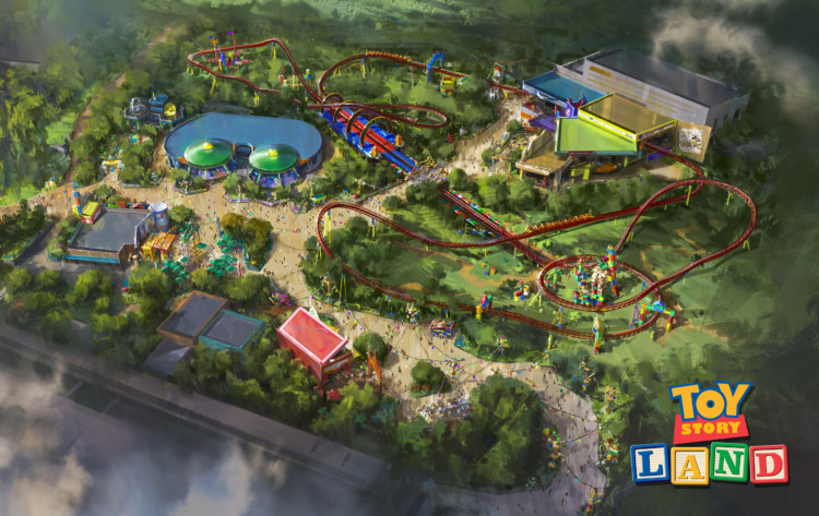 The new Toy Story Land will feature two new Walt Disney World attractions.
