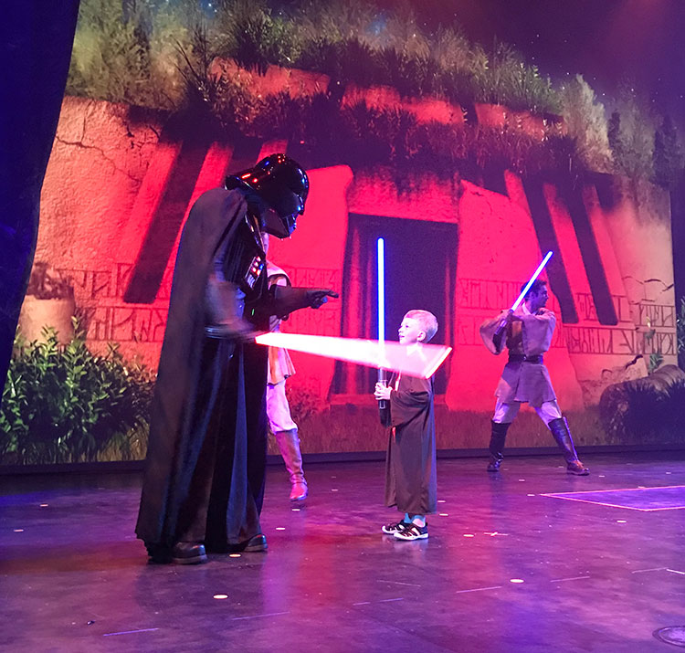 Jedi Training at Star Wars Day at Sea is a must-do!
