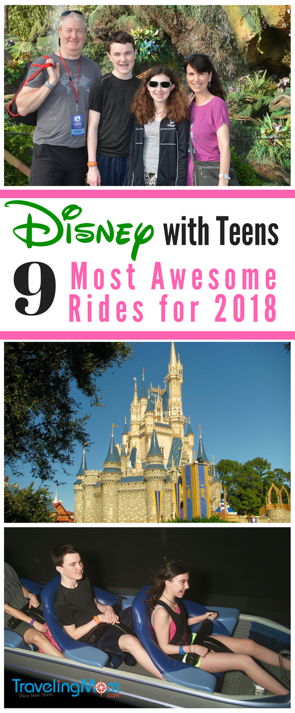 Considering taking your Teens to Disney World? Check out our list of the 9 of the Most Awesome Top Rides Teens
