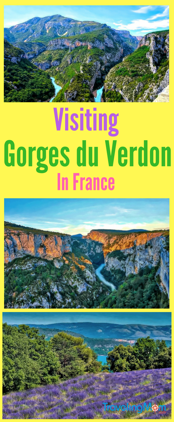 Verdon Gorges in France, also called Europe's Grand Canyon, are a hidden attraction of Provence. They deliver dramatic beauty to nature minded travelers.